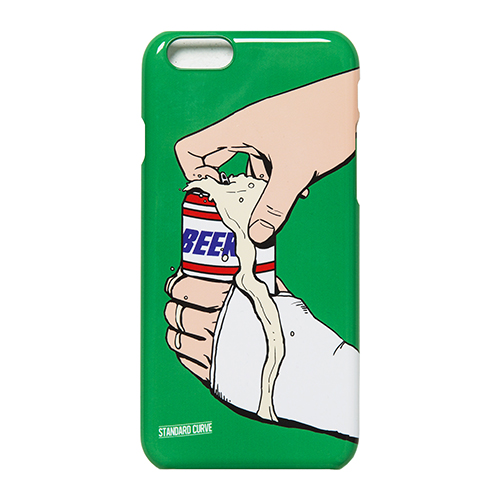 STV. BEER CAN I PHONE 6 CASE GREEN