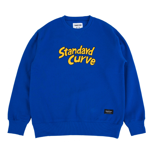 STV. CARTOON FONT SWEAT SHIRT BLUE