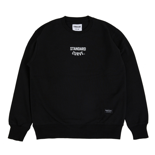 STV. NEW LOGO SWEAT SHIRT BLACK