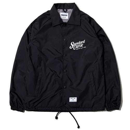 STV. RYL LIGHTNING COACH JACKET BLACK [LIMITED EDITION]