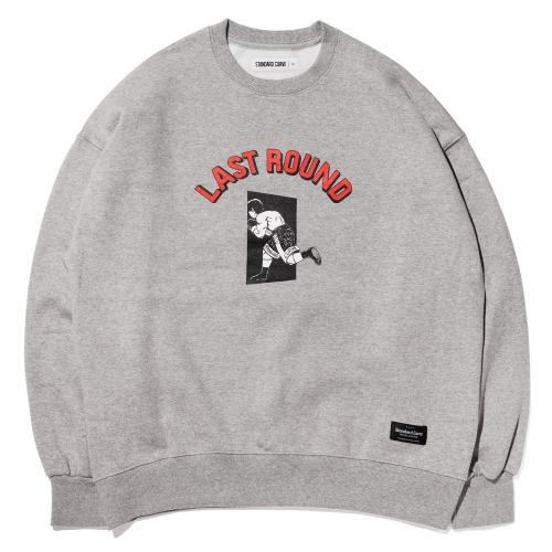 STV. LAST ROUND SWEAT SHIRT GRAY
