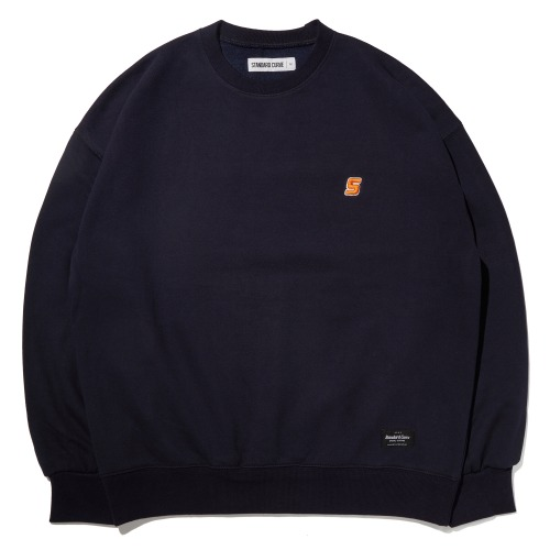STV. S LOGO SWEAT SHIRT NAVY