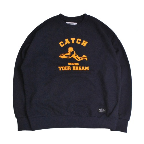 STV. CATCH YOUR DREAM SWEAT SHIRT NAVY